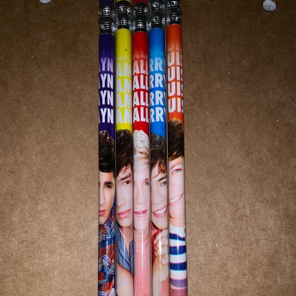 One Direction pencils